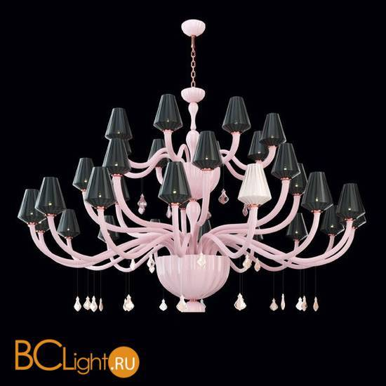 Люстра Beby Group Pure 7820BB5 Rose Rosa Cipria Black White Rose