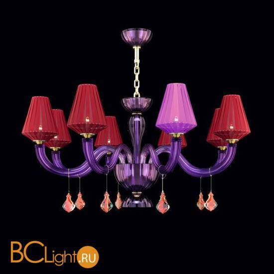 Люстра Beby Group Pure 7820B03 Gold Violet N319 Red