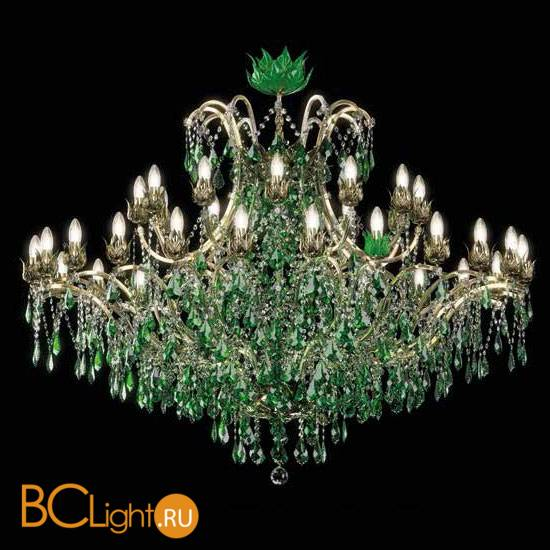 Люстра Beby Group Spiga 1810B03 Light Gold Jungle Green