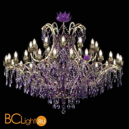 Люстра Beby Group Spiga 1810B03 Light Gold Violet
