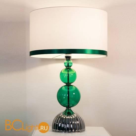 Настольная лампа Beby Group Star 0122L02 Chrome Emerald 311