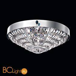 Потолочный светильник Beby Group Stone 5150Q01 Satin Chrome Cut Almond Turquoise
