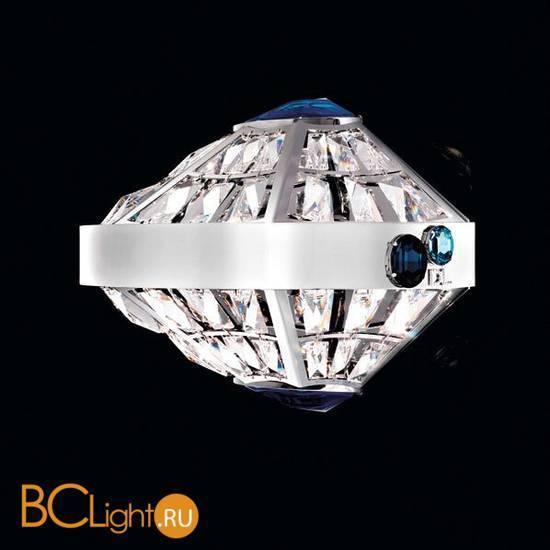 Настенный светильник Beby Group Stone 5150A02 Chrome Cut Almond Turquoise