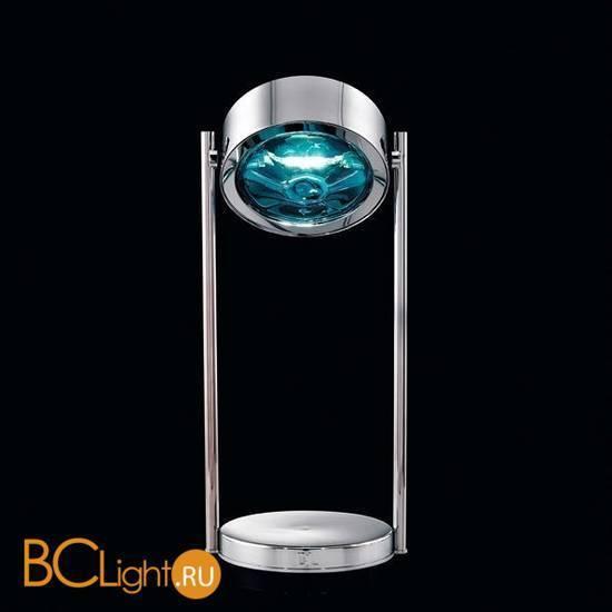 Настольная лампа Beby Group Stone 5150L02 Chrome Turquoise
