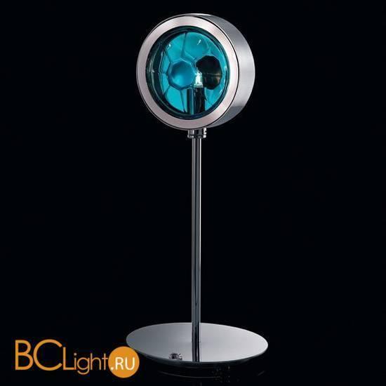 Настольная лампа Beby Group Stone 5150L03 Chrome Turquoise