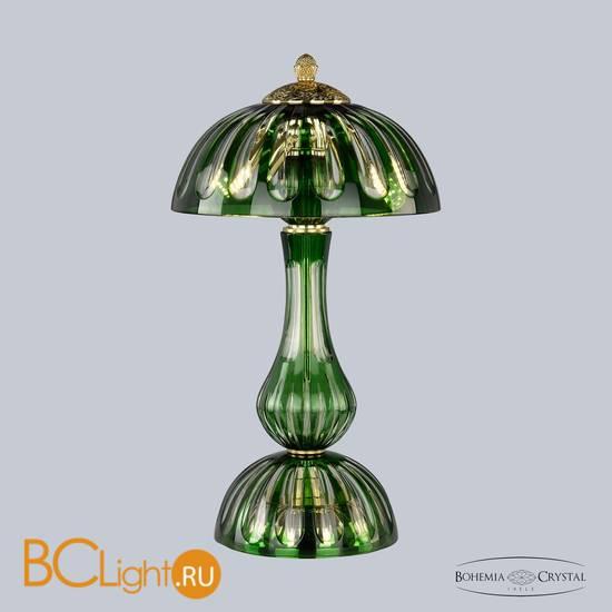 Настольная лампа Bohemia Ivele Crystal 1370L/3/25 G Clear-Green/H-1H