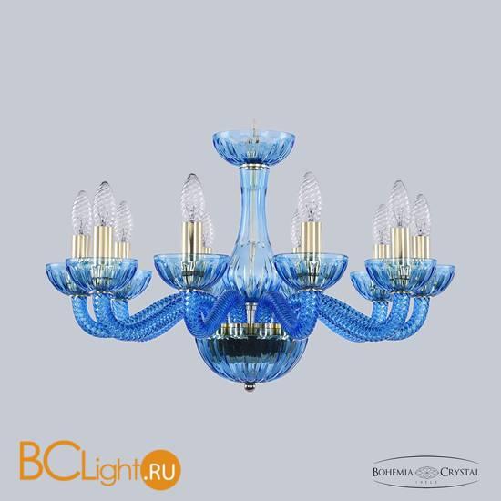 Люстра Bohemia Ivele Crystal 1311/10/200 G Aq/Aquamarime/M-1H