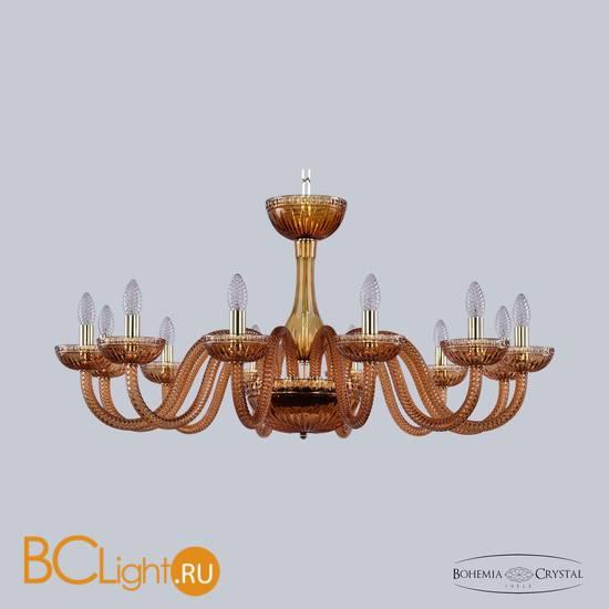 Люстра Bohemia Ivele Crystal 1310/12/360 G Am/Amber/M-1G