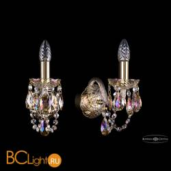 Бра Bohemia Ivele Crystal 1402B/1/141/G/M701