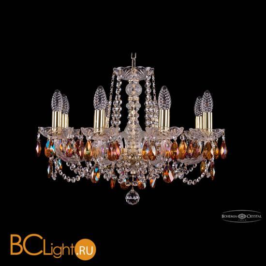 Люстра Bohemia Ivele Crystal 1402/8/195/G/K711