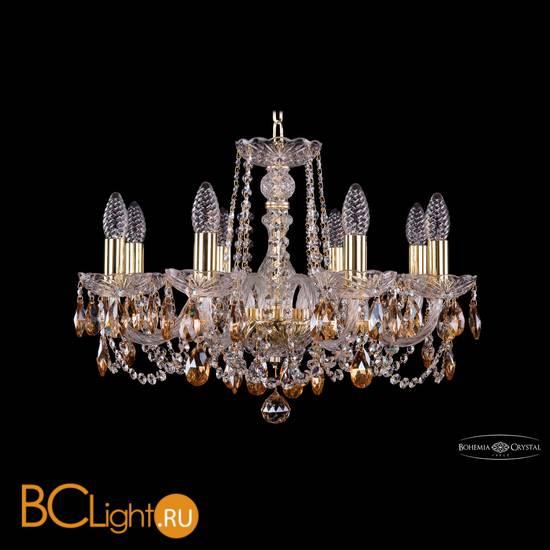 Люстра Bohemia Ivele Crystal 1402/8/195/G/K721