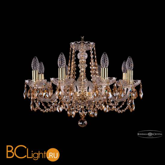 Люстра Bohemia Ivele Crystal 1402/8/195/G/R721