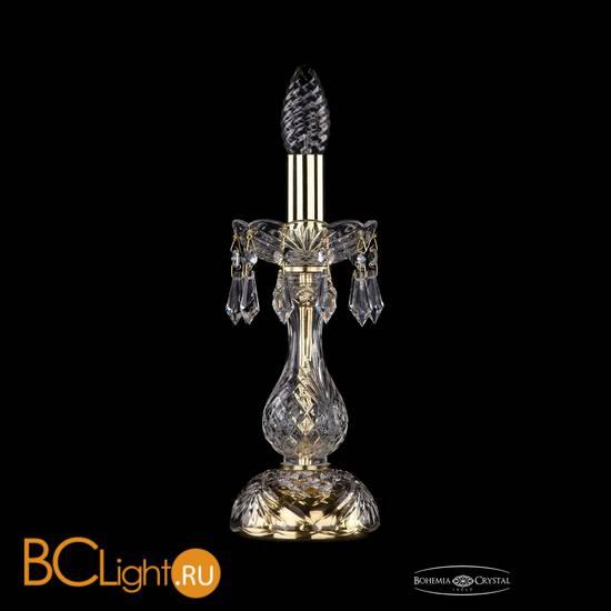 Настольная лампа Bohemia Ivele Crystal 1403L/1-27/G