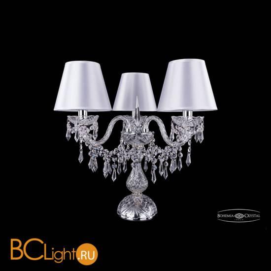 Настольная лампа Bohemia Ivele Crystal 1403L/3/141-39/Ni/SH21-160