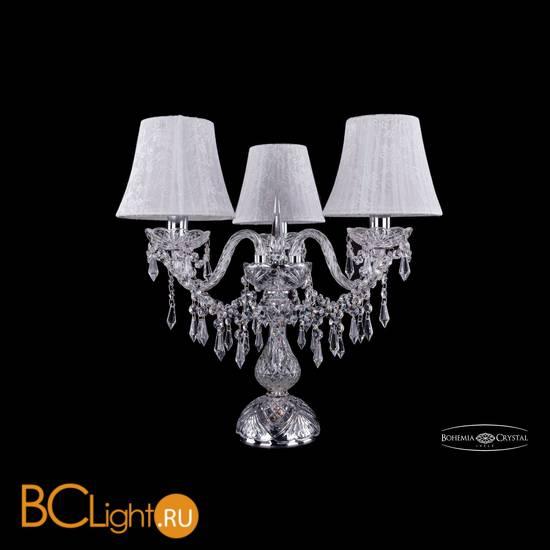 Настольная лампа Bohemia Ivele Crystal 1403L/3/141-39/Ni/SH41-160