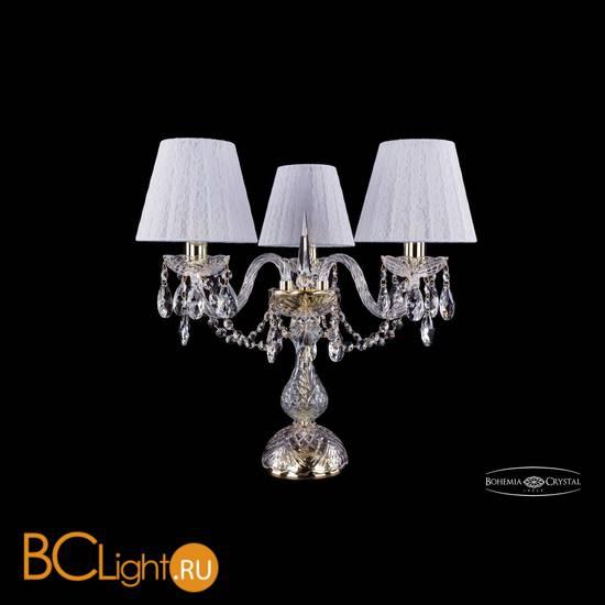 Настольная лампа Bohemia Ivele Crystal 1406L/3/141-39/G/SH13-160
