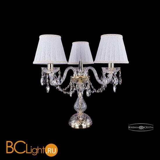 Настольная лампа Bohemia Ivele Crystal 1406L/3/141-39/G/SH13a-160