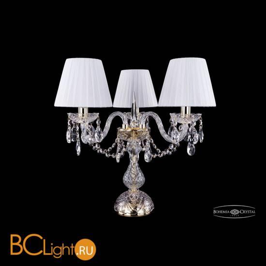 Настольная лампа Bohemia Ivele Crystal 1406L/3/141-39/G/SH2-160