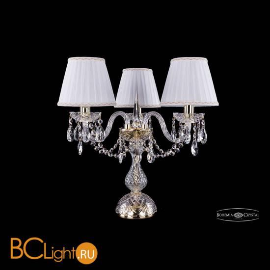 Настольная лампа Bohemia Ivele Crystal 1406L/3/141-39/G/SH2a-160