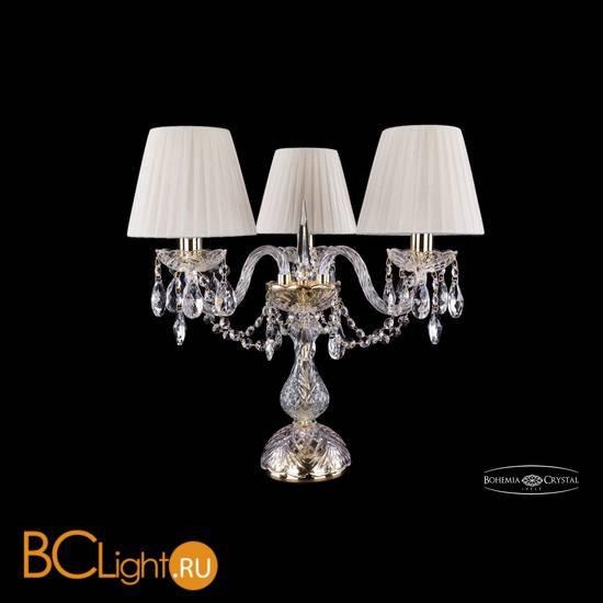Настольная лампа Bohemia Ivele Crystal 1406L/3/141-39/G/SH3-160