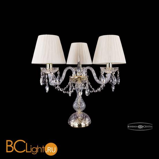 Настольная лампа Bohemia Ivele Crystal 1406L/3/141-39/G/SH33-160