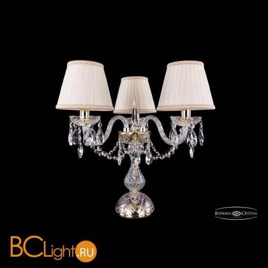 Настольная лампа Bohemia Ivele Crystal 1406L/3/141-39/G/SH33a-160
