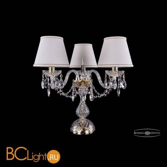 Настольная лампа Bohemia Ivele Crystal 1406L/3/141-39/G/SH40a-160