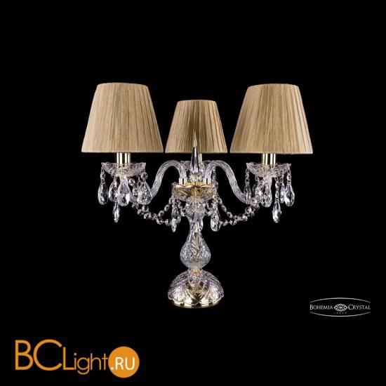 Настольная лампа Bohemia Ivele Crystal 1406L/3/141-39/G/SH7-160