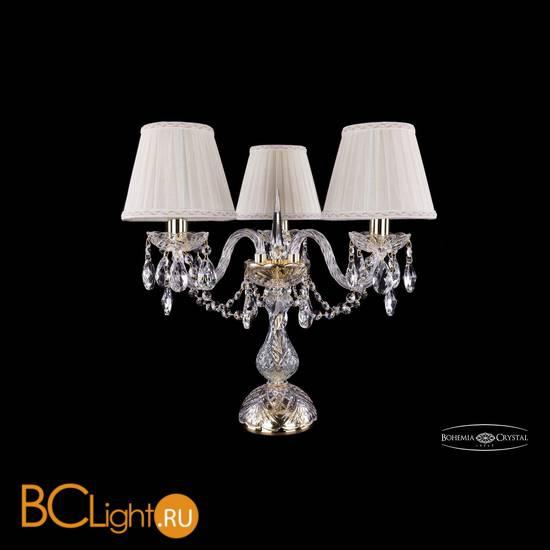 Настольная лампа Bohemia Ivele Crystal 1406L/3/141-39/G/SH3a-160