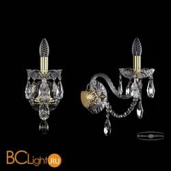 Бра Bohemia Ivele Crystal 1406B/1/195/XL/G