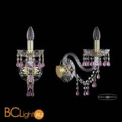 Бра Bohemia Ivele Crystal 1410B/1/195/XL/G/V7010