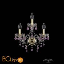 Бра Bohemia Ivele Crystal 1410B/2+1/141/G/V7010
