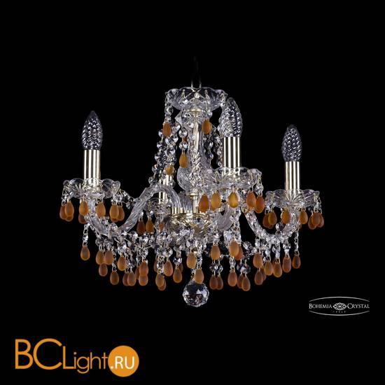 Люстра Bohemia Ivele Crystal 1410/4/141/G/V1003
