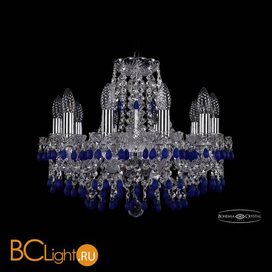 Люстра Bohemia Ivele Crystal 1410/10/160/Ni/V3001