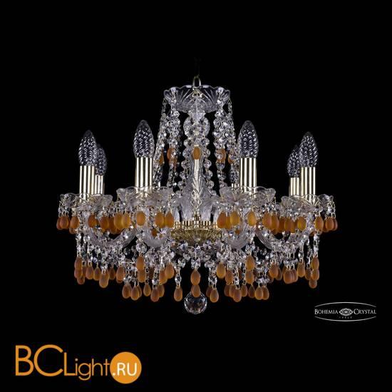 Люстра Bohemia Ivele Crystal 1410/8/160/G/V1003