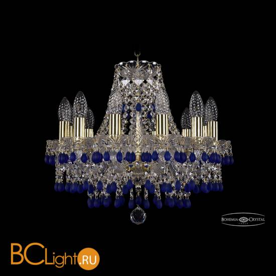 Люстра Bohemia Ivele Crystal 1410/12/141/G/V3001