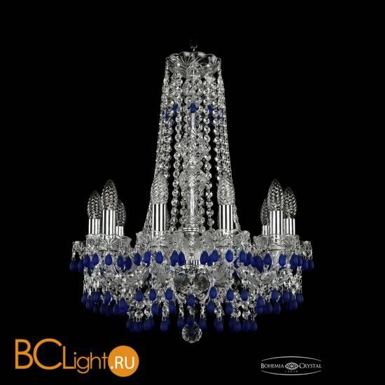 Люстра Bohemia Ivele Crystal 1410/10/160/h-60/Ni/V3001
