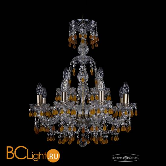 Люстра Bohemia Ivele Crystal 1410/8+4/195/XL-66/Pa/V1003
