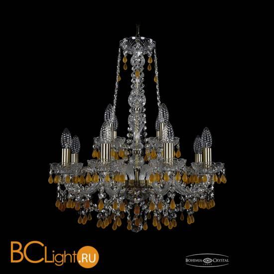 Люстра Bohemia Ivele Crystal 1410/8+4/195/h-63/Pa/V1003