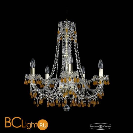 Люстра Bohemia Ivele Crystal 1410/5/195/h-60/G/V1003