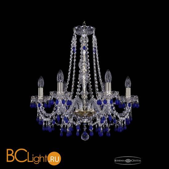 Люстра Bohemia Ivele Crystal 1410/6/195/h-60/G/V3001