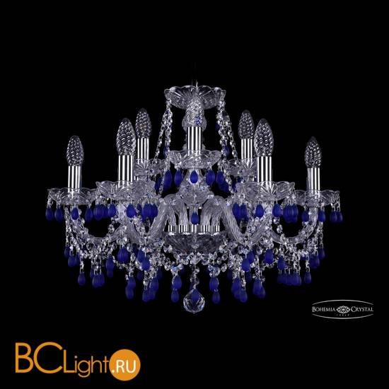 Люстра Bohemia Ivele Crystal 1410/6+3/195/Ni/V3001