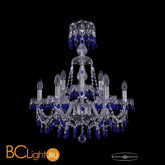 Люстра Bohemia Ivele Crystal 1410/6+3/195/XL-66/Ni/V3001
