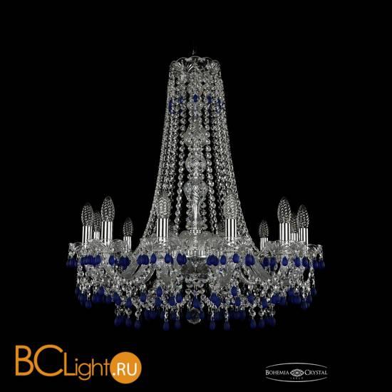 Люстра Bohemia Ivele Crystal 1410/12/240/h-74/Ni/V3001