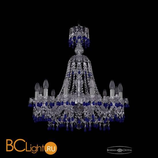 Люстра Bohemia Ivele Crystal 1410/12/240/XL-74/Ni/V3001