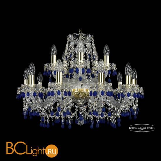 Люстра Bohemia Ivele Crystal 1410/10+5/240/G/V3001