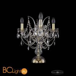 Настольная лампа Bohemia Ivele Crystal 1411L/3/141-39/G