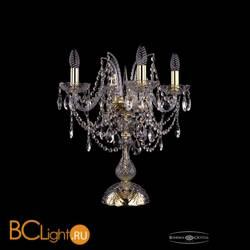 Настольная лампа Bohemia Ivele Crystal 1411L/4/141-47/G