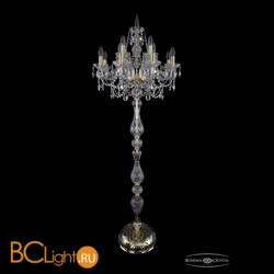 Торшер Bohemia Ivele Crystal 1411T1/8+4/195-170/G