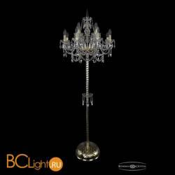 Торшер Bohemia Ivele Crystal 1411T2/8+4/195-170/G